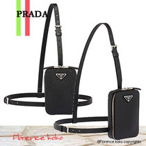 関税込国内発送 PRADA☆Saffiano Cross-body Bag 2VZ039_9Z2