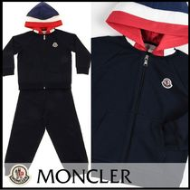 【MONCLER】20SS フードジップアップ トラックスーツ 2A-3A/NAVY