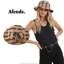 AFENDS(アフェンズ) ハット 《日本未入荷》Byronbay発*AFENDS*Poppy Check Bucket Hat*