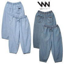 ★WV PROJECT★日本未入荷 Public bending wide denim pants 2色