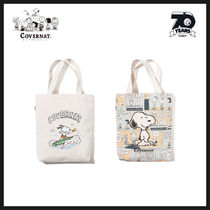 ◆COVERNAT◆ CXPEANUTS 70th SURFING SNOOPY ECO BAG (全2色)