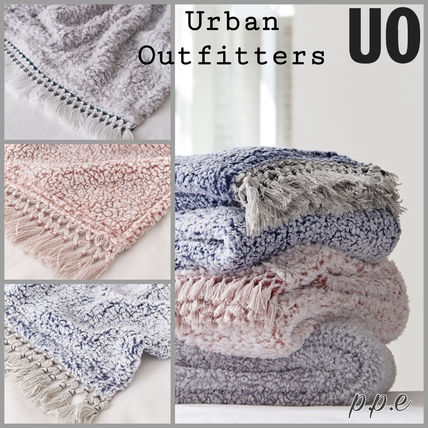 Urban Outfitters ブランケット(ひざ掛け) ◇Urban Outfitters◇スーパーソフトフリースブランケット
