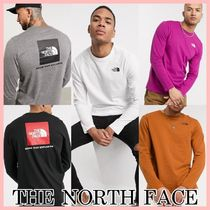 The North Face Red Box ロゴ 長袖 Tシャツ 5色 送料込み