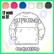 12 Week SS 20 Supreme Overdyed L/S Top
