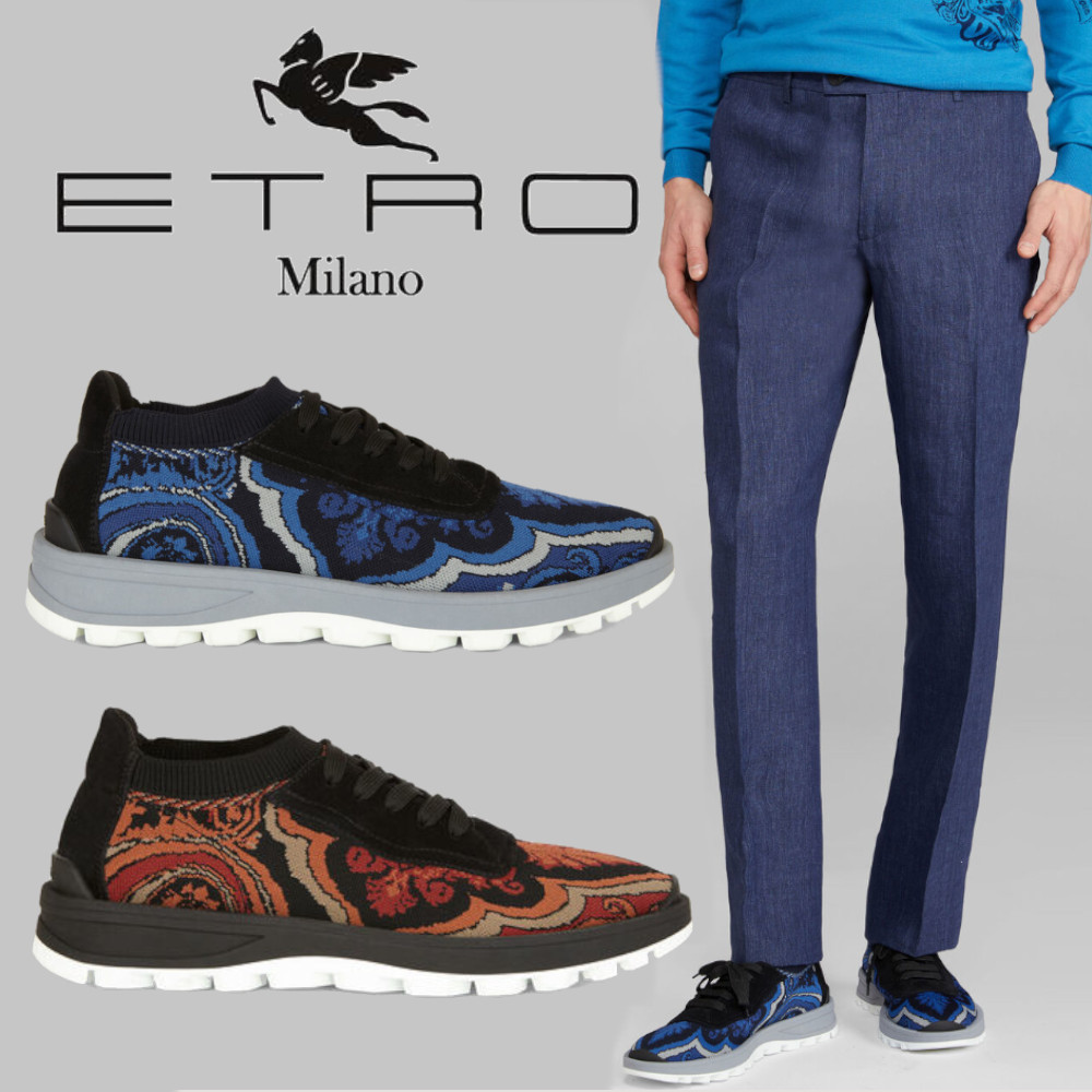 Shop ETRO 2020 SS Paisley Blended