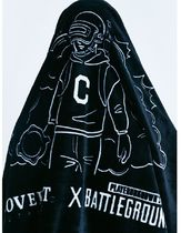 COVERNAT(コボナッ) ブランケット ★COVERNAT★ COVERNAT X BATTLEGROUNDS MILITARY BLANKET BLACK