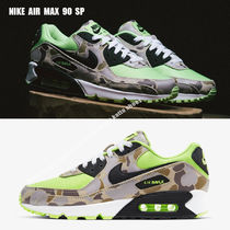 NIKE★AIR MAX 90 SP★カモ★迷彩★GHOST GREEN/BLACK★兼用