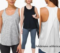 lululemon*Essential Tank Pleated*丈長め*ゆったりタンク♪