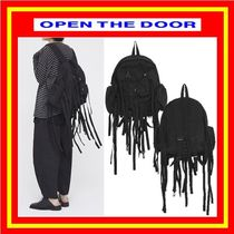 [OPEN THE DOOR]  bike strap backpack ◆追跡付