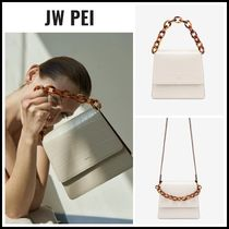 2WAY!! 人気◆ JW PEI ◆ The Fae Acrylic Chain Top Handle Bag