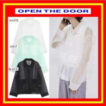 [OPEN THE DOOR] organza runway jacket / 3色◆男女兼用/追跡付