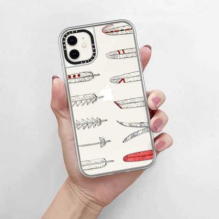 Casetify スマホケース・テックアクセサリー Casetify iphone Grip case♪Native American Feathers♪(10)