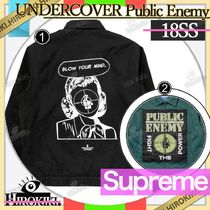 18SS /Supreme UNDERCOVER Public Enemy Work Jacket ワークJK