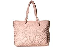 【SALE】Tory Burch Fleming Quilted Nylon Small Tote