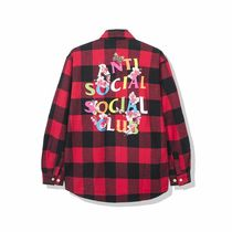 AntiSocialSocialClub / frantic red flannel