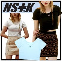 NASTYKICK(ネスティキック) Tシャツ・カットソー ★送料・関税込★NASTYKICK★FANCY ROUND CROP TEE★3色