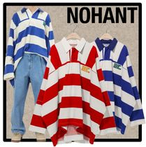 NOHANT(ノアン) Tシャツ・カットソー ☆イベント/送料・関税込☆NOHANT★OVERSIZED RUGBY SHIRT★2色