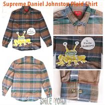 ★20SS WEEK12★Supreme Daniel Johnston Plaid Shirt