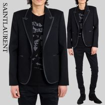 SAINTLAURENT Jacket Black Contrast