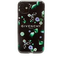 GIVENCHY FLORAL LOGO IPHONE XIケース