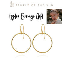 【TEMPLE OF THE SUN】Hydra Earrings Gold ゴールド ピアス