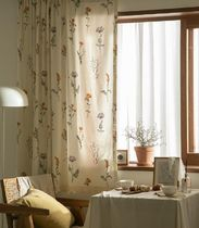 【DECO VIEW】Margaret Flower Lace Small Window Curtain