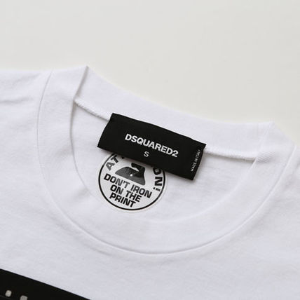 D SQUARED2 Tシャツ・カットソー ディースクエアード カスタマイズカープリントTシャツs74gd0653(4)