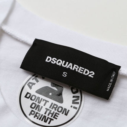 D SQUARED2 Tシャツ・カットソー ディースクエアード カスタマイズカープリントTシャツs74gd0653(5)