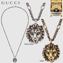 GUCCI(グッチ) ネックレス・チョーカー 累積売上総額第1位【GUCCI★20春夏】NECKLACE WITH LION HEAD