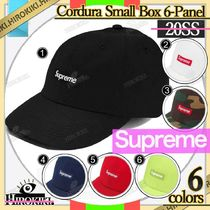 20SS /Supreme Cordura Small Box 6-Panel Cap Logo ボックス