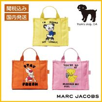 【MARC JACOBS】THE SMALL TRAVELER コラボトート小◆国内発送◆