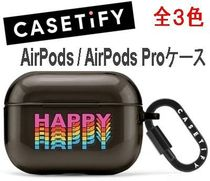 ★Casetify★AirPods / AirPods Proケース* TPU素材 全3色