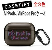 ★Casetify★AirPods / AirPods Proケース** TPU素材 全3色