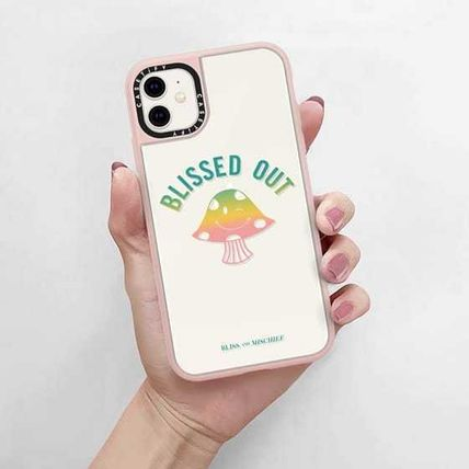 Casetify スマホケース・テックアクセサリー Casetify iphone Grip case♪BLISSED OUT♪(4)
