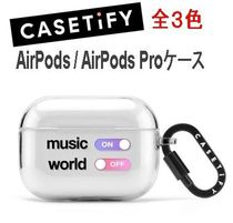 ★Casetify★AirPods / AirPods Proケース## TPU素材 全3色