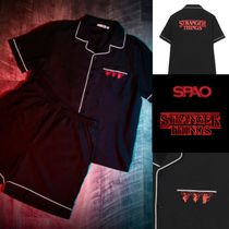 【SPAO x STRANGER THINGS】限定 半袖パジャマセット upsidedown