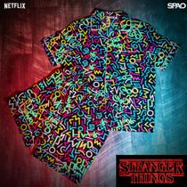 【SPAO x STRANGER THINGS】限定 半袖パジャマセット mix