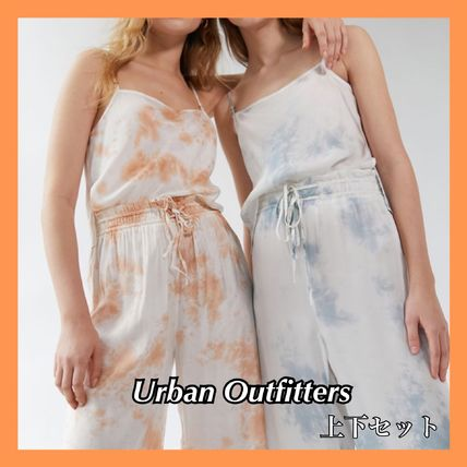 Urban Outfitters ルームウェア・パジャマ お得!Urban Outfitters  タイダイ タンクトップ+パンツセット
