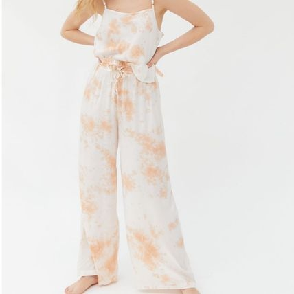 Urban Outfitters ルームウェア・パジャマ お得!Urban Outfitters  タイダイ タンクトップ+パンツセット(12)