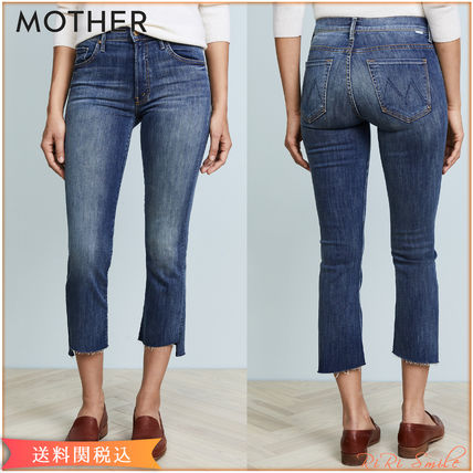 MOTHER デニム・ジーパン MOTHER The Insider Crop Step Fray ジーンズ クロップ