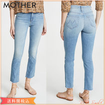 MOTHER The Mid Rise Dazzler Ankle Fray デニム クロップ