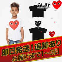 COMME des GARCONS(コムデギャルソン) キッズ用トップス 1-3日着【即発】COMME des GARCONS キッズ カットソーTシャツ
