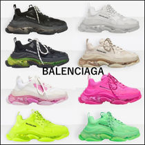 新作★BALENCIAGA★TRIPLE S CLEAR SOLE SNEAKER シューズ / 靴