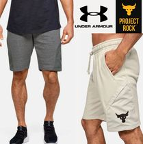 UNDER ARMOUR×Project Rock★Terry Shorts ショートパンツ