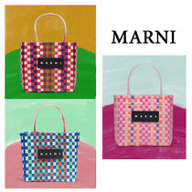 【MARNI】マルニ SQUARED SHOPPING BAG