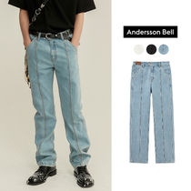 ANDERSSON BELL(アンダースンベル) デニム・ジーパン ANDERSSON BELL正規品★VERTICAL PANNEL ストレートジンーズ
