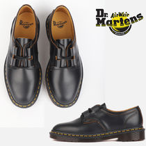 関税負担なし☆Dr Martens 1461 GHILLIE VINTAGE SMOOTH BLACK