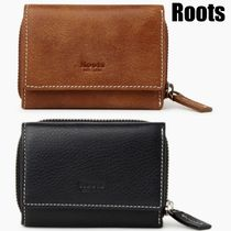 Roots*Small trifold cluch*上質イタリアンレザー*3つ折財布