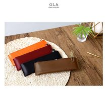 【OLA】Leather pencil case