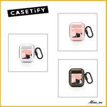 ☆Casetify☆ Air Pods リングケース Footprints ♪